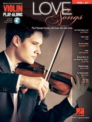Violin Play Along 67 - LOVE SONGS + Audion Online