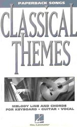 Hal Leonard Corporation Paperback Songs - CLASSICAL THEMES   melody/chords