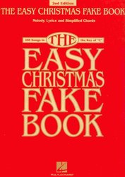 THE EASY CHRISTMAS FAKE BOOK   vocal/chords