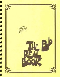 THE REAL BOOK - Bb edition - melodie/akordy