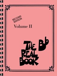 THE REAL BOOK II - Bb edtion - melodie/akordy