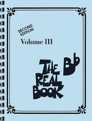THE REAL BOOK III - Bb edition - melodie/akordy