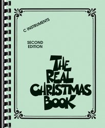 The Real CHRISTMAS book - C instruments / zpěv + akordy