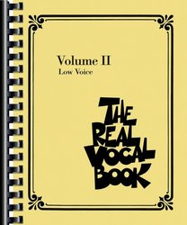 THE REAL VOCAL BOOK II - Low Voice - zpěv/akordy