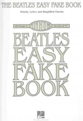 THE BEATLES EASY FAKE BOOK     zpěv/akordy