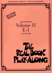 THE REAL BOOK II Play Along - 3x CD (E- I)