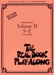 Hal Leonard Corporation THE REAL BOOK II Play Along - 3x CD (S- Z)