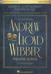Andrew Lloyd Webber: Theatre Songs - Men + Audio Online / zpěv a klavír