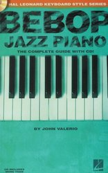 BEBOP JAZZ PIANO + CD    the instructional book / klavír