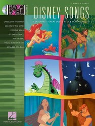 PIANO DUET PLAY-ALONG 6 - DISNEY SONGS + CD