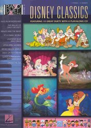 PIANO DUET PLAY ALONG 16 - DISNEY CLASSICS + CD
