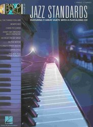 PIANO DUET PLAY-ALONG 30 - JAZZ STANDARDS + CD 1 piano 4 hands