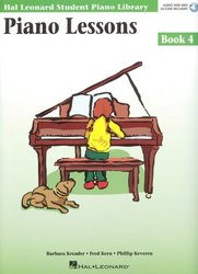 Hal Leonard Corporation PIANO LESSONS BOOK 4 + Audio Online