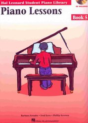 Hal Leonard Corporation PIANO LESSONS BOOK 5 + CD