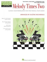 Hal Leonard Corporation MELODY TIMES TWO       2 pianos 4 hands