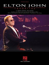 ELTON JOHN Favorites - 11 Great Songs for Piano Solo