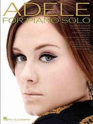 Hal Leonard Corporation ADELE for Piano Solo - 10 Great Songs