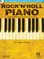 Hal Leonard Corporation ROCK' N' ROLL PIANO + CD / Hal Leonard Keyboard Style Series