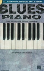Hal Leonard Corporation BLUES PIANO + CD   the instructional book