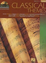 Piano Play Along 8 - CLASSICAL THEMES + CD