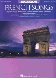 Hal Leonard Corporation BIG BOOK OF FRENCH SONGS             klavír/zpěv/kytara