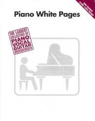 Hal Leonard Corporation PIANO WHITE PAGES            klavír/zpěv/akordy