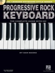 PROGRESSIVE ROCK KEYBOARD - The Complete Guide + CD