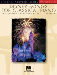 DISNEY SONGS FOR CLASSICAL PIANO - piano solos