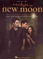 THE TWILIGHT SAGA: NEW MOON (music from the movie) - klavír/zpěv/kytara