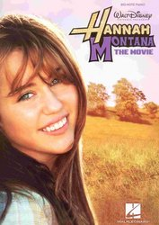 Hal Leonard Corporation HANNAH MONTANA - THE MOVIE  big-note piano