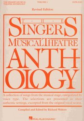 The Singer's Musical Theatre Anthology 1 - soprano