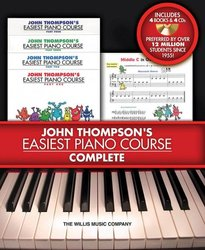 John Thompson's Easiest Piano Course (1-4) - Complete (4x book/CD)