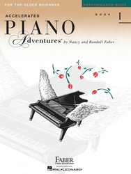 The FJH Music Company INC. Piano Adventures - Performance Book 1 - Older Beginners