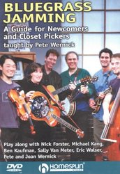 Homespun Tapes, Ltd BLUEGRASS JAMMING: A Guide for Newcomers and Closet Pickers - DVD