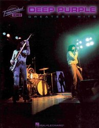 Hal Leonard Corporation DEEP PURPLE - GREATEST HITS   transcribed scores