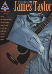 Hal Leonard Corporation The Best Of JAMES TAYLOR (Guitar Recorded Versions) - zpěv/kytara+tabulatura