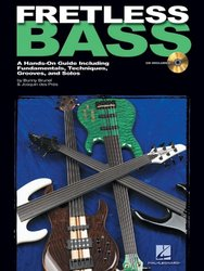 FRETLESS BASS + CD / A Hands-On Guide Including Fundamentals, Techniques, Grooves, and Solos