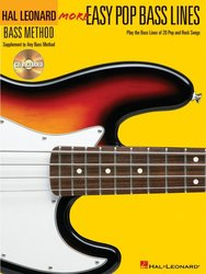Easy Pop Bass Lines 2 (More) + Audio Online