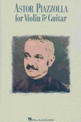 Hal Leonard Corporation ASTOR PIAZZOLLA FOR VIOLIN&GUITAR