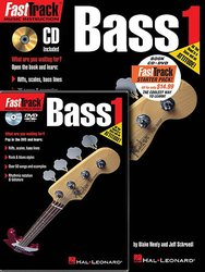 FASTTRACK - BASS 1 - STARTER PACK (Book + CD + DVD)