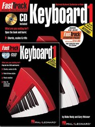 FASTTRACK - KEYBOARD METHOD 1 - STARTER PACK (Book + Audio Online + DVD)