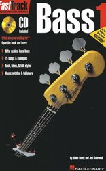 Hal Leonard Corporation FASTTRACK - BASS 1 + CD   music instruction