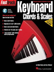 FASTTRACK - KEYBOARD - CHORDS & SCALES + Audio Online