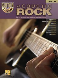 Hal Leonard Corporation Guitar Play Along 19 - Acoustic ROCK + CD