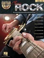 Hal Leonard Corporation Guitar Play Along 34 - CLASSIC ROCK + CD