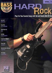 BASS PLAY-ALONG 7 - HARD ROCK + CD