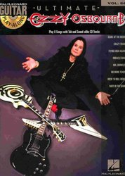 Guitar Play Along 64 - OZZY OSBOURNE + CD vocal/guitar & tab
