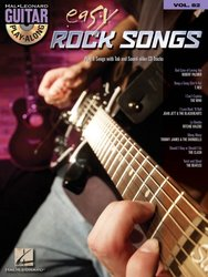 Guitar Play Along 82 - EASY ROCK SONGS + CD