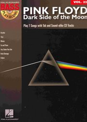 BASS PLAY-ALONG 23 - PINK FLOYD: Dark Side of the Moon + Audio Online