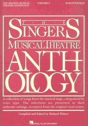 The Singer's Musical Theatre Anthology 3 - baritone/bass